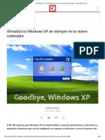 Virtualiza Tu Windows XP de Siempre en Tu Nuevo Ordenador _ Tecnología - ComputerHoy.com