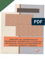 RESUMEN-EJECUTIVO DE PROYECTO DE INVERSION - ETAPA DE PREINVERSION