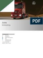 Manual de Operacion y Mantenimiento ACTROS