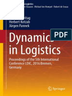 (Lecture Notes in Logistics) Michael Freitag, Herbert Kotzab, Jürgen Pannek (Eds.) - Dynamics in Logistics_ Proceedings of the 5th International Conference LDIC, 2016 Bremen, Germany-Springer Internat
