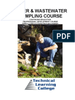 Water &Wastewater Sampling Course