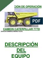 Manual de Operacion CAT 777 D - Compatible