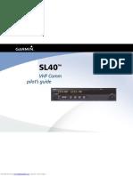 SL40 Manual