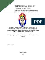 DIPLOMADO EN DOCENCIA UNIVERSITARIA PROCESO DE ENSEÑANZA APRENDIZAJE Lourdes Siglo XX - CON OBSERVACIONES (1)-1.docx