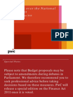 PwC Budget Brief Nov2010