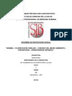 Proyeccion Social Epidemiologia Mb 2019ii
