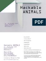 hackable animals catalogue for web