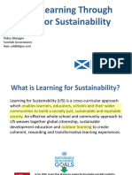 Liam Cahill - Learning for Sustainability