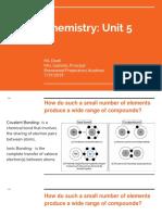 chemistry  unit 5