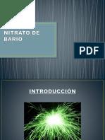 Nitrato de Bario