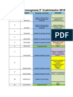 SI EAD Cronograma 2C2019