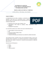 PRUEBAS FISICOQUIMICAS EN FRUTAS Y VERDURAS