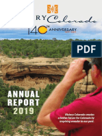 History Colorado Annual Report 2018/19