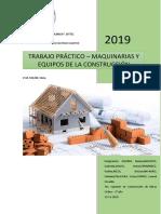 Trabajo Práctico Maquinarías - Etapas de La Construcción de Una Vivienda