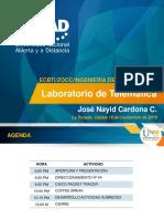 Laboratorio Telematica 2019 16-01