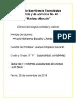 reporte sobre las 11 reformas estructurales de Enrique Peña Nieto