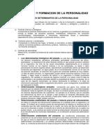 Desarrollo y Formacion de La Personalidad.