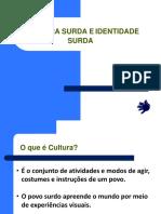 Cultura e Identidade Surda