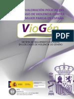 La valoración policial del riesgo de violencia contra la mujer pareja en España – Sistema VioGén
