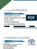 ANTEPROYECTO VIVIENDA UNIFAMILIAR