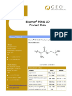 Bisomer PEM6 LD Technical Data Sheet