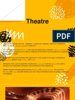 Theater and Applied Arts
