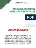 Modulo Dinamico Mezclas Asfalticas