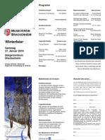 MVB Winterfeier 2018 Programm