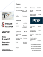MVB Winterfeier 2017 Programm