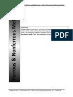 MSM-6 Ferrous & Non Ferrous Metals