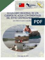 Inventario regional de los cuerpos de agua continentales del istmo y centroamerica
