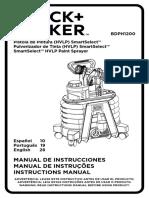 BDPH1200 Manual