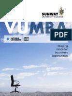 VUMBA- Sunway University College 2011