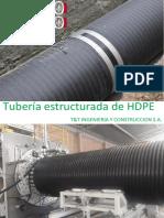 Catalogo t&t - Tuberia Estructurada Hdpe (1)
