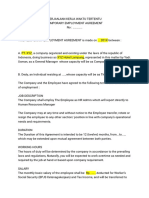 Perjanjian Kerja Bahasa Inggris.docx
