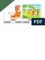 Sustantivo Comun y Propio