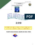 Reglamento Interno 2019-(Revisar)