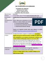 Descripcion de Tareas 1 Individual Modulo 4 2 Parcial Filosofia Del Derecho Line