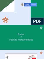Buriles y Plaquitas