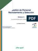 Gestio de Personal Reclutamiento y seleccion