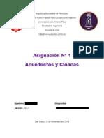 Criterios y Parámetros Para La Potabilidad Del Agua a Nivel Mundial y en Venezuela