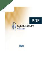 EasyCall Gate_XMLRPC Cenarios