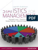 Statistics for Management - Richard I. Levin, David S. Rubin, Sanjay Rastogi, Masood Husain Siddiqui