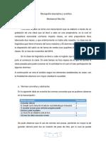 Monografía Descriptiva y Analítica
