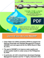DPWH Natl Sewerage Septage Mgmt Program