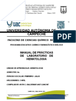 Manual de Hematología Plan 2009