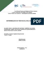 Determinação do teor de álcool na gasolina.pdf