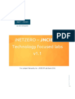 JNCIE-SP Tech lab v1.1