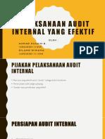 Tugas Kel Audit Internal
