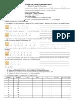W1. Discrete Probability Distribution (1)